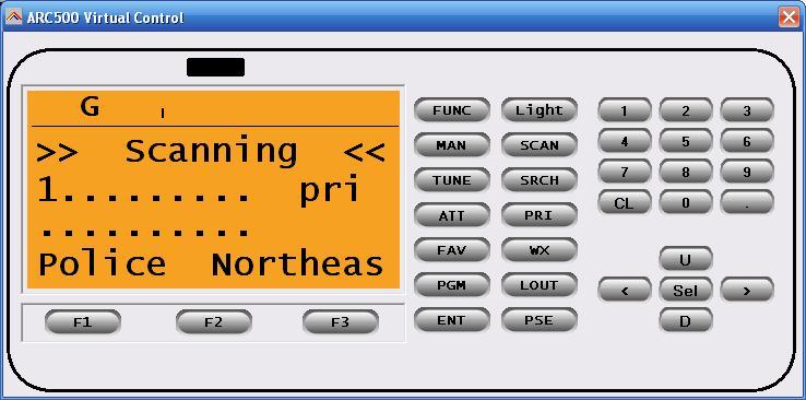 PSR-500 and 600 Programming Software